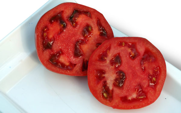 Corte tomate
