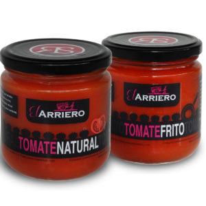 Comprar Pack tomate frito y natural El Arriero