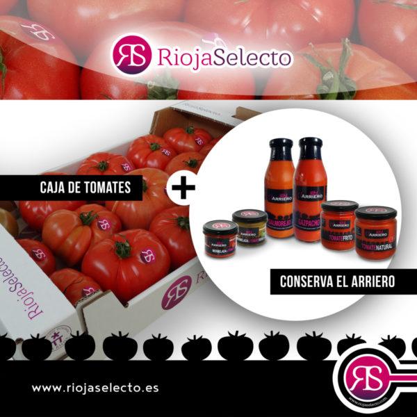 Configura tu pack ahorro conserva y tomate