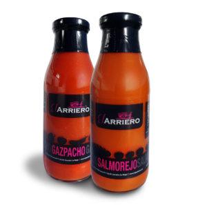 Comprar Pack Gazpacho y Salmorejo El Arriero